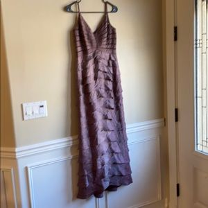 Adrianna Papell occasions plum irridescent gown 6